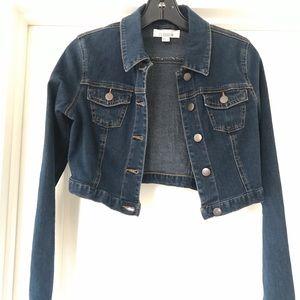Cropped Jean Jacket XS